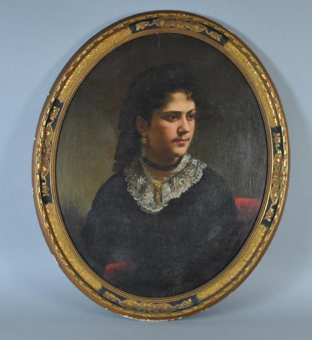 VICTORIAN PORTRAIT OF A LADY