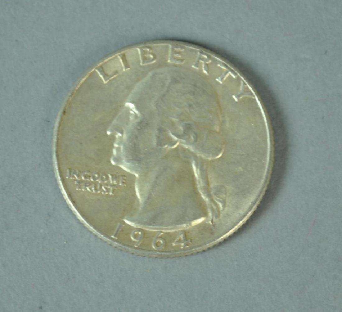 (60+) US SILVER QUARTER DOLLAR COINS