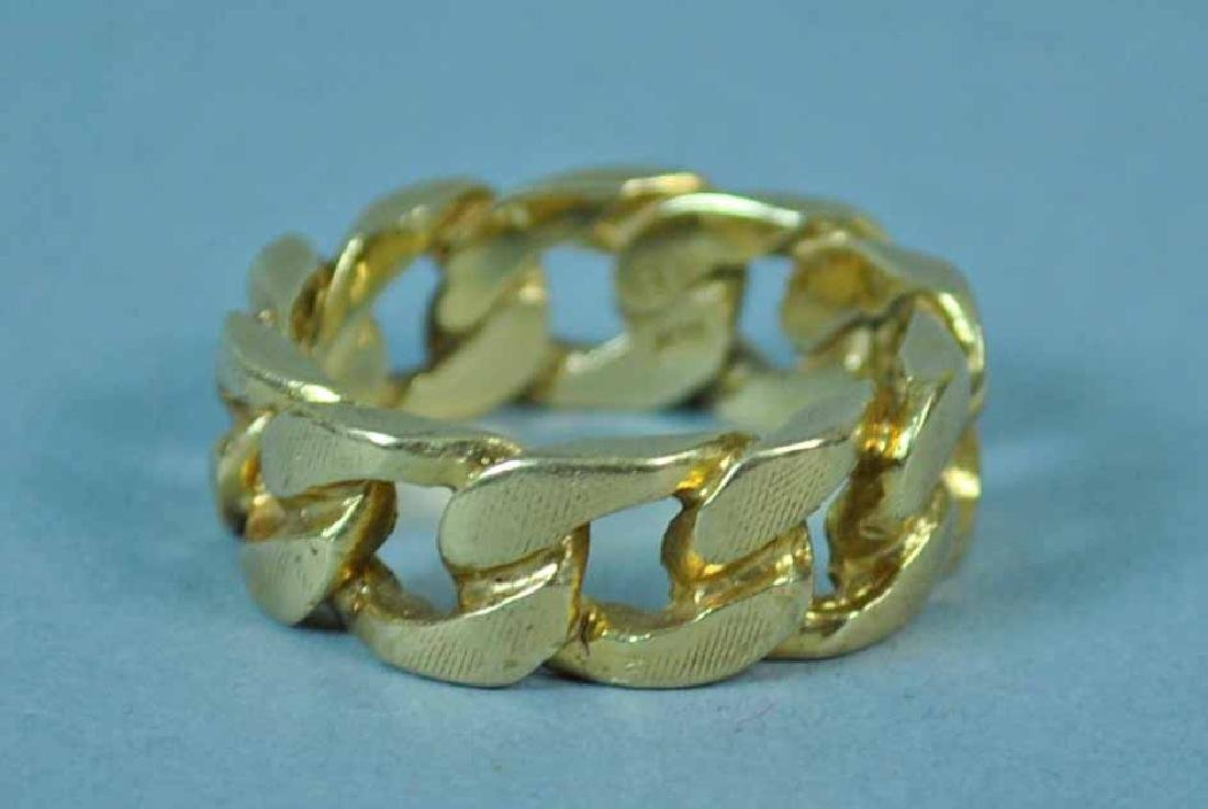 GOLD CHAIN FORM BAND