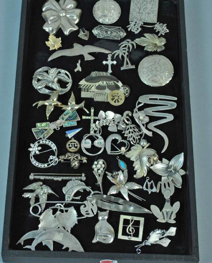 (40+) STERLING JEWELRY GROUP