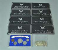 18 PIECE AMERICAN SILVER COIN COLLECTION
