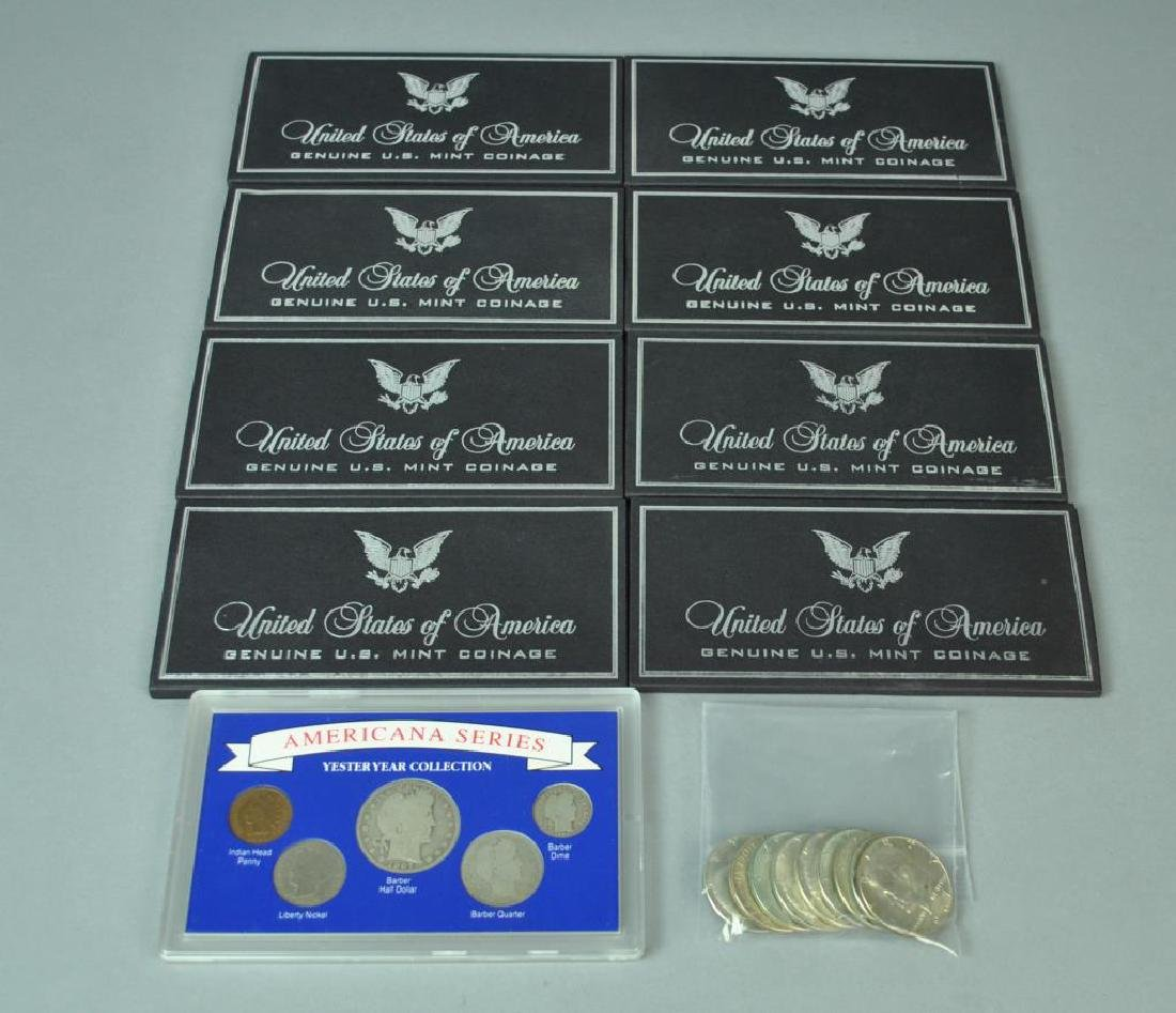 (18) PIECE AMERICAN SILVER COIN COLLECTION