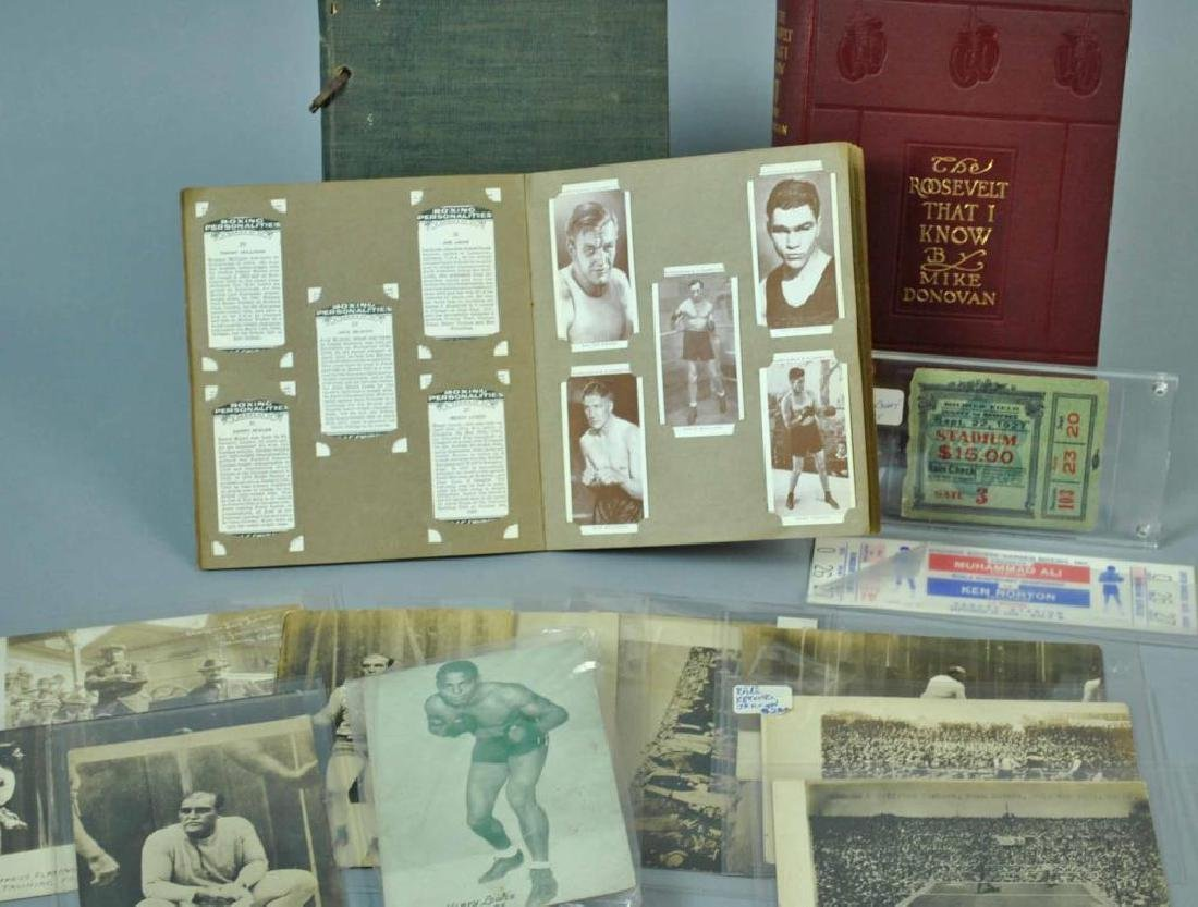 VINTAGE BOXING EPHEMERA COLLECTION