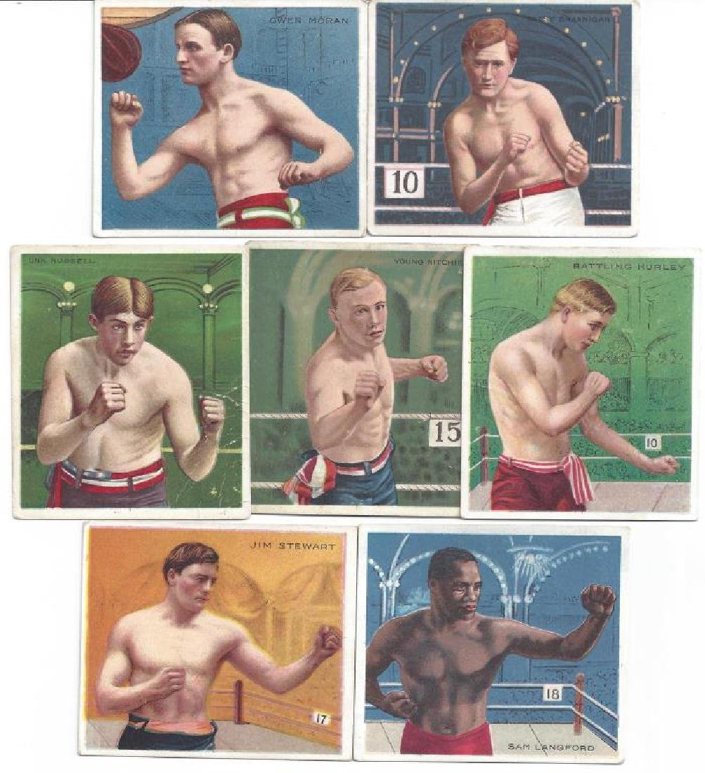 50+ HASSAN BOXING TOBACCO CARDS