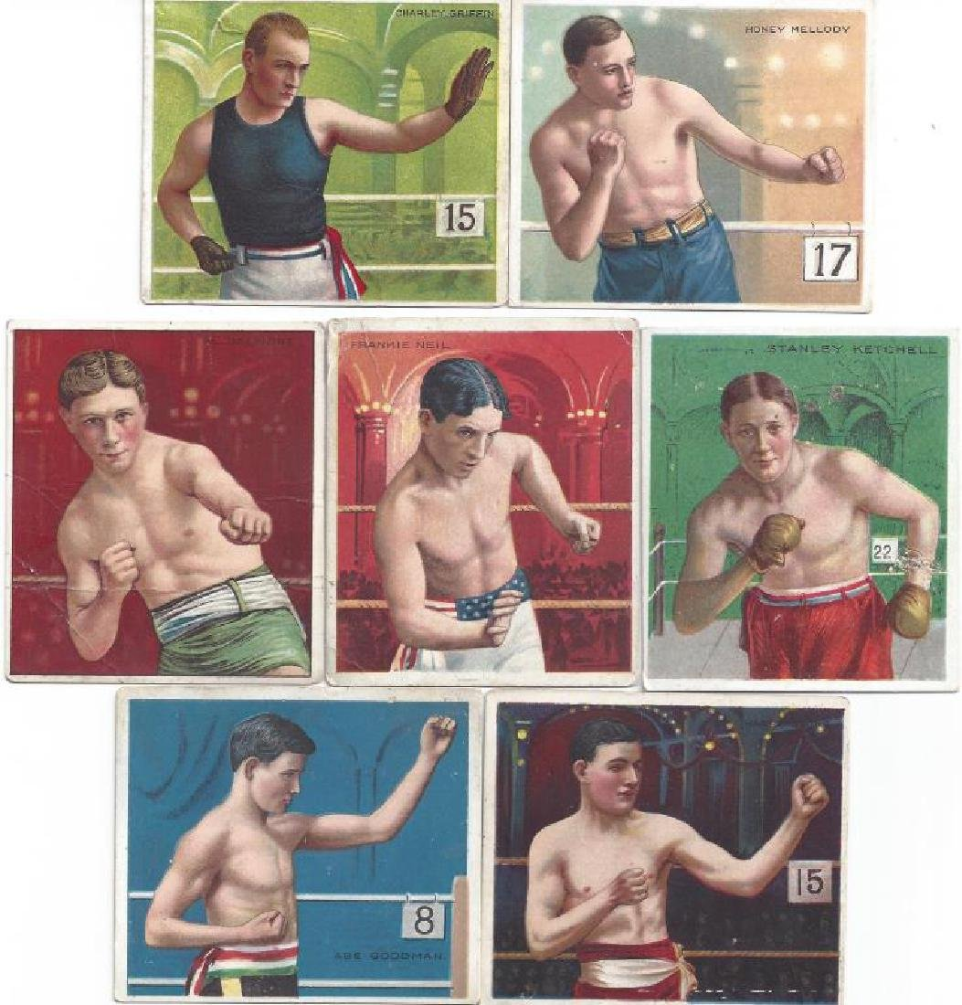 50+ MECCA BOXING TOBACCO CARDS