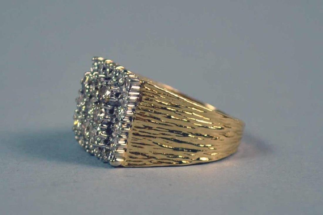 GENTS DIAMOND RING, 1.95CTW - 2