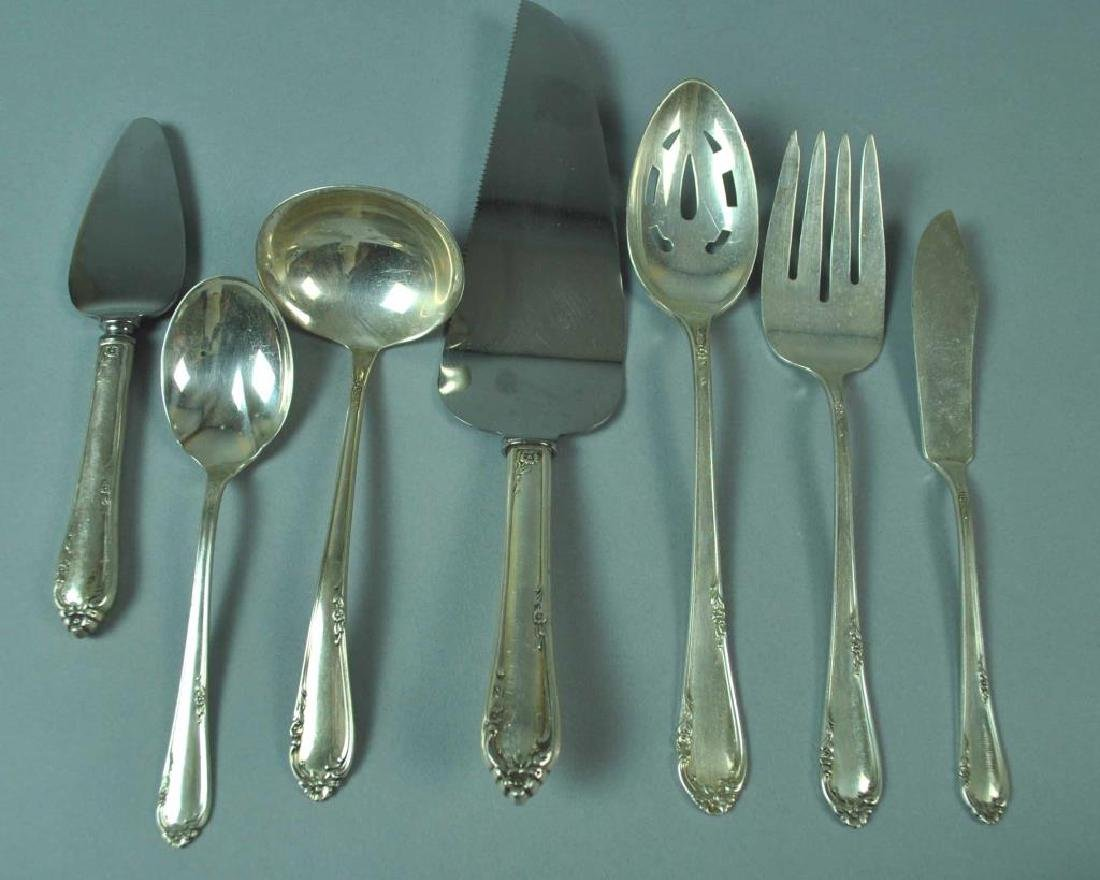 (67) PIECE REED & BARTON STERLING FLATWARE SERVICE - 2