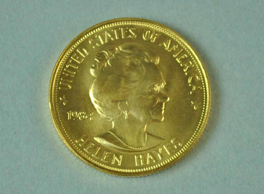 1984 AMERICAN ARTS HELEN HAYES GOLD MEDALLION