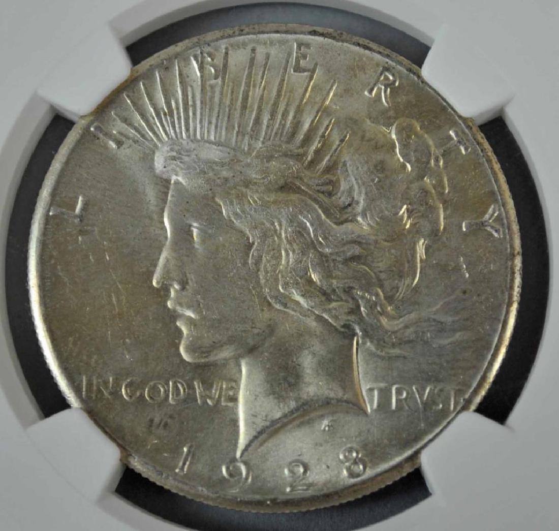 1928-P US PEACE DOLLAR MS 64 - 2