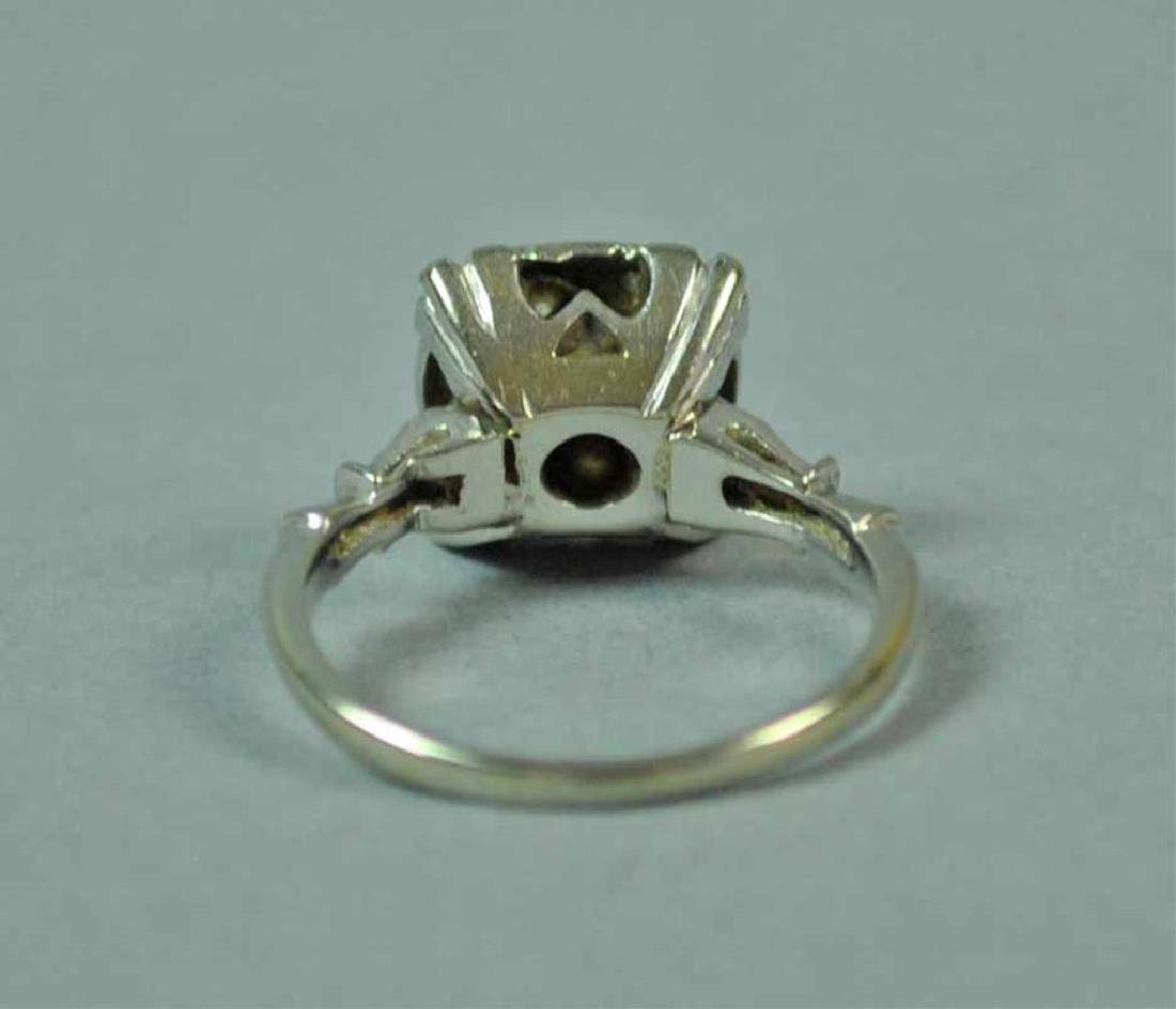 GOLD & DIAMOND CLUSTER RING - 4