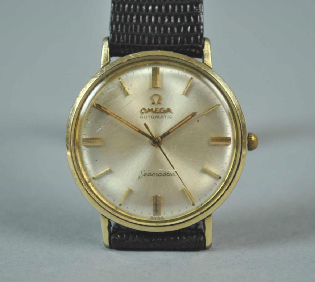 GENTS OMEGA AUTOMATIC GOLDTONE SEAMASTER WATCH - 2