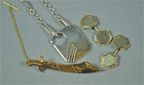 (3) PIECE GOLD & SILVER JEWELRY GROUP