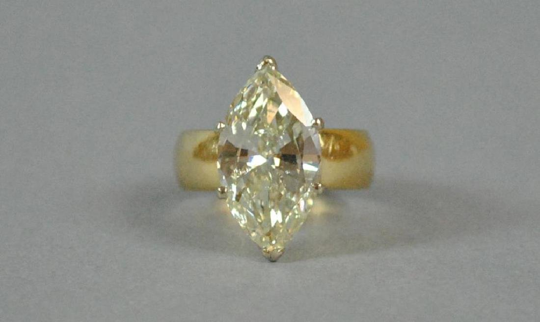 5.10CT DIAMOND ENGAGEMENT RING