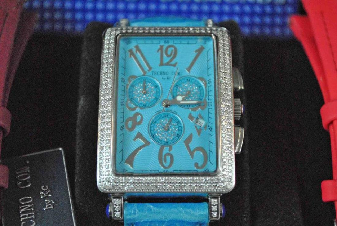 LADIES KC CHRONOGRAPH STAINLESS & DIAMOND WATCH - 2