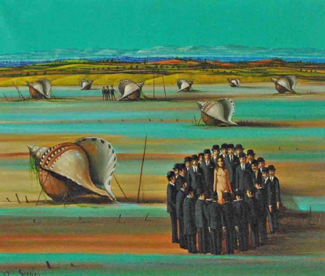 JEAN PIERRE SERRIER (French, 1934-1989)