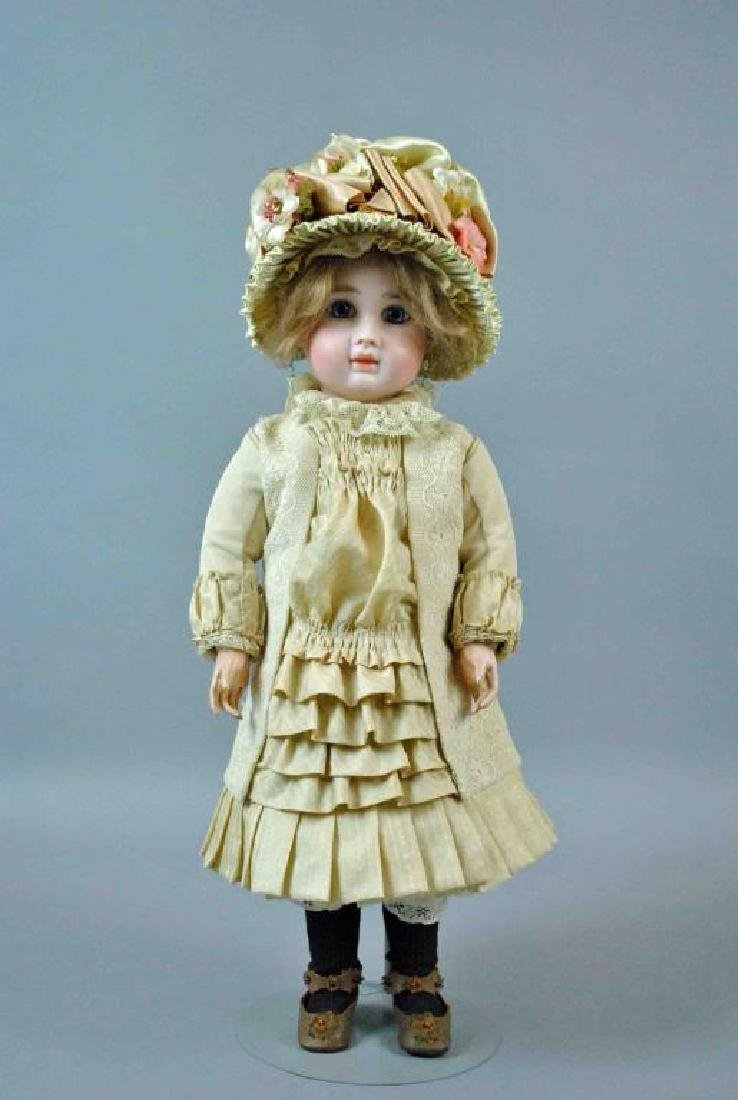 "17"" FRENCH STEINER BISQUE HEAD DOLL"
