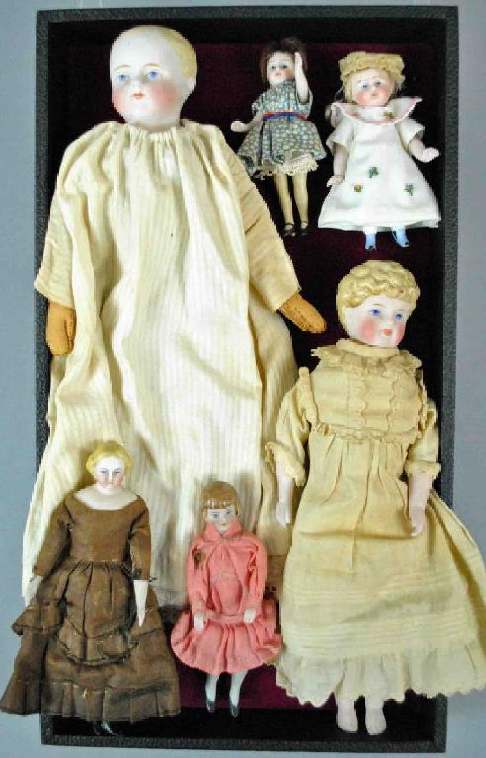 (6) PIECE VINTAGE DOLL GROUP