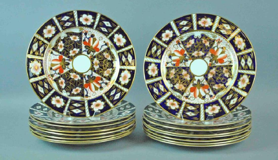 (16) ROYAL CROWN DERBY CABINET PLATES