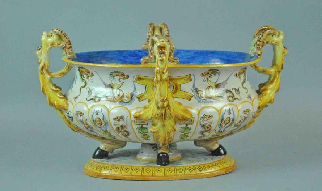 ITALIAN FAIENCE CENTER BOWL
