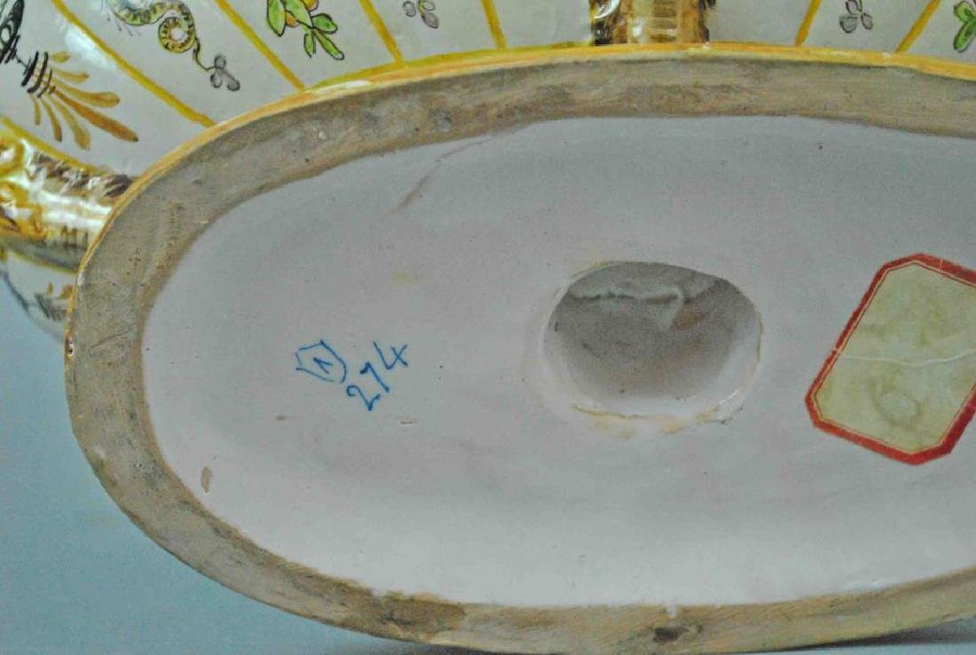 ITALIAN FAIENCE CENTER BOWL - 5