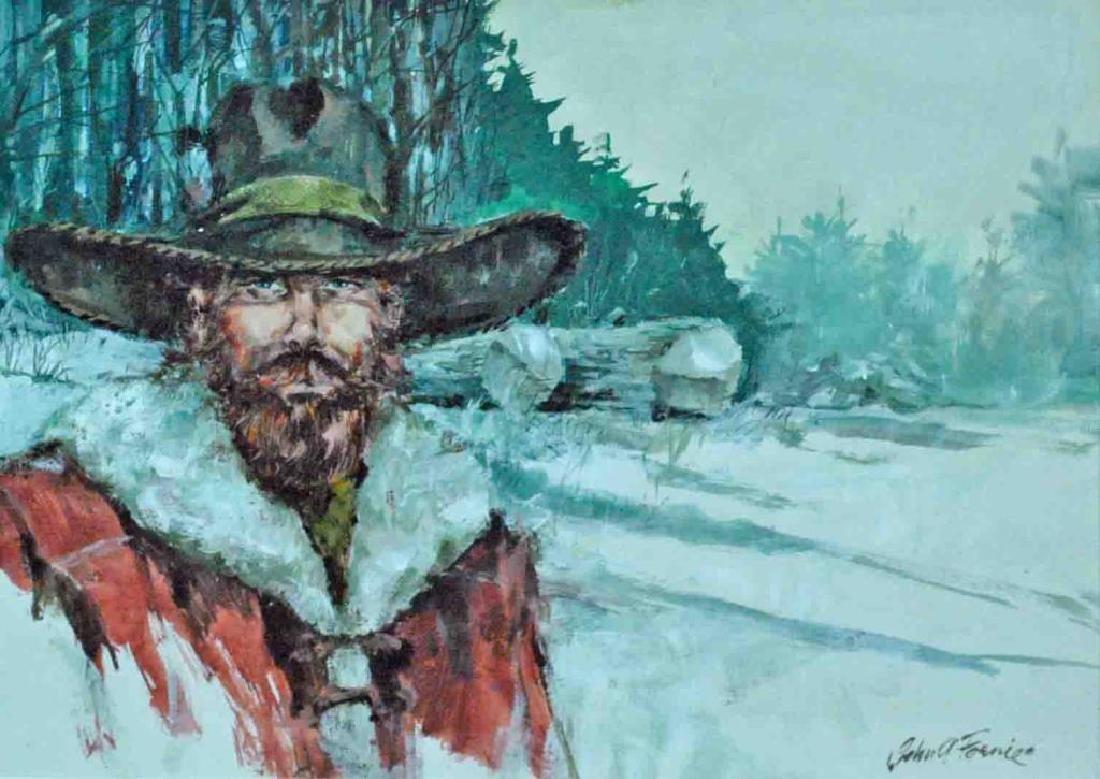 JOHN A. FERNIE (NY / Vermont / Maine, 1919-2001)