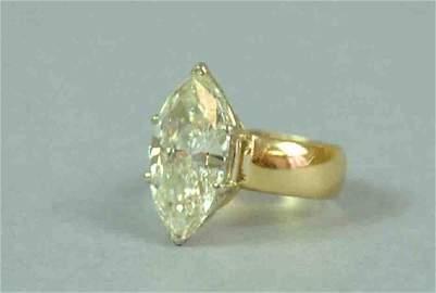 DIAMOND ENGAGEMENT RING, 5.10CT