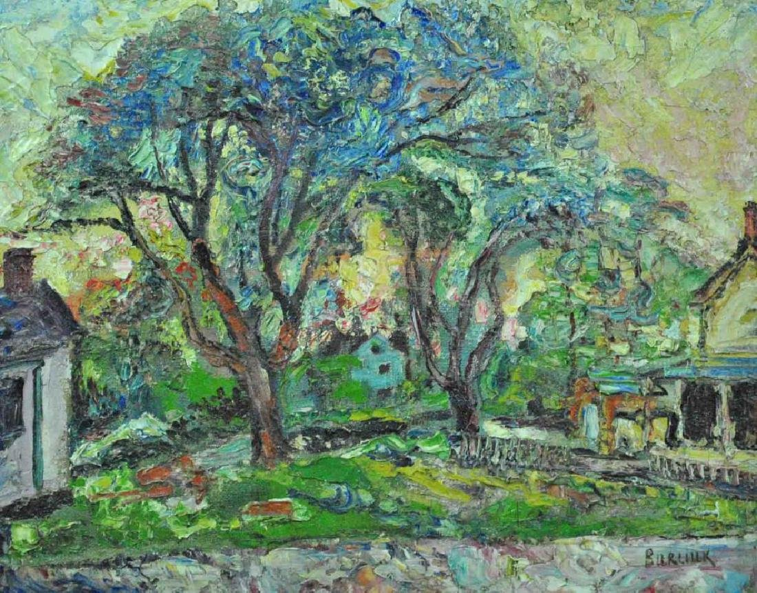 DAVID BURLIUK (New York / Russian, 1882-1967)