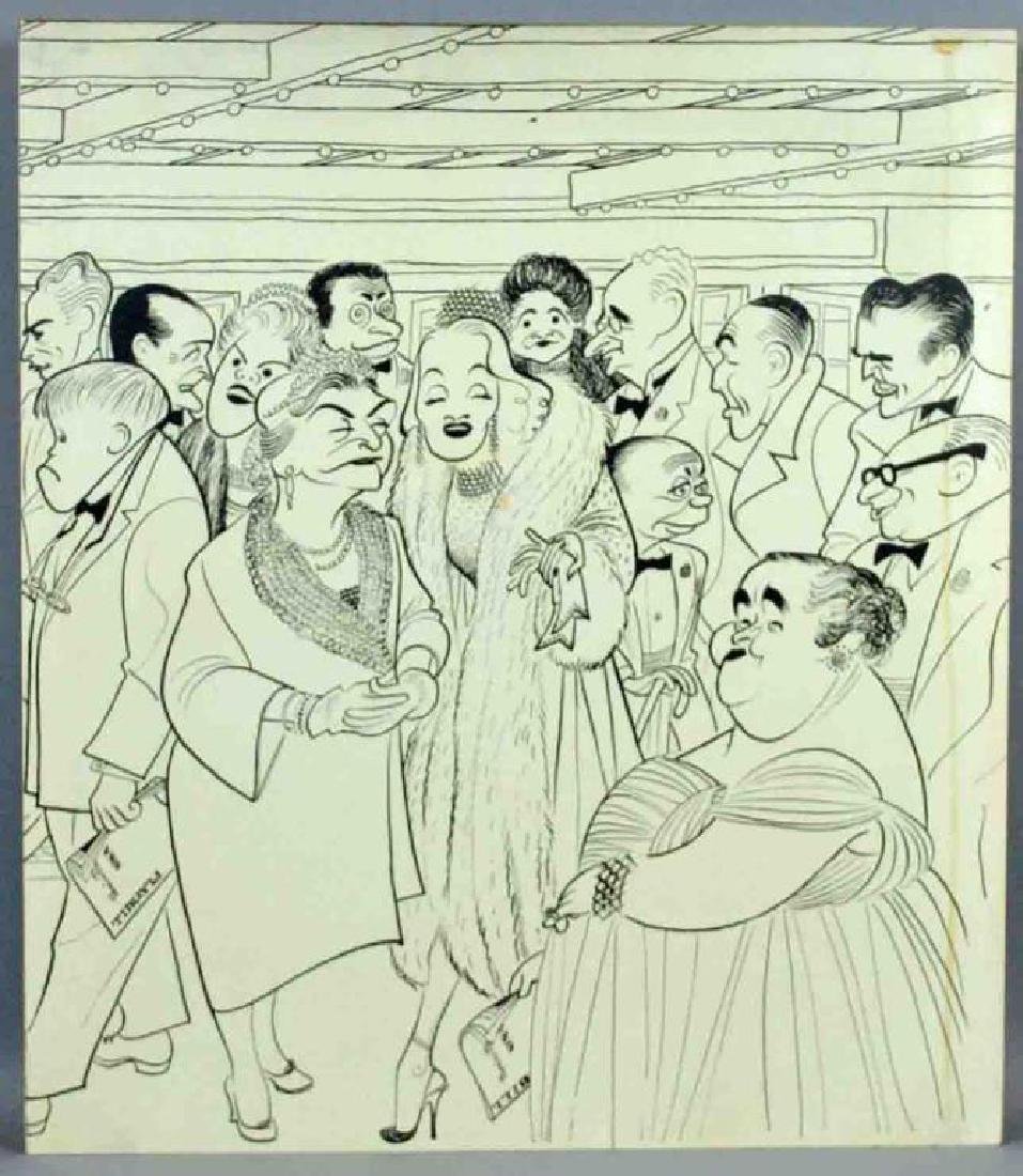 AFTER AL HIRSCHFELD – BROADWAY FIRST NIGHTERS