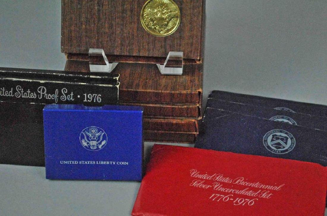 GROUP OF SILVER & COLLECTIBLE US COINS