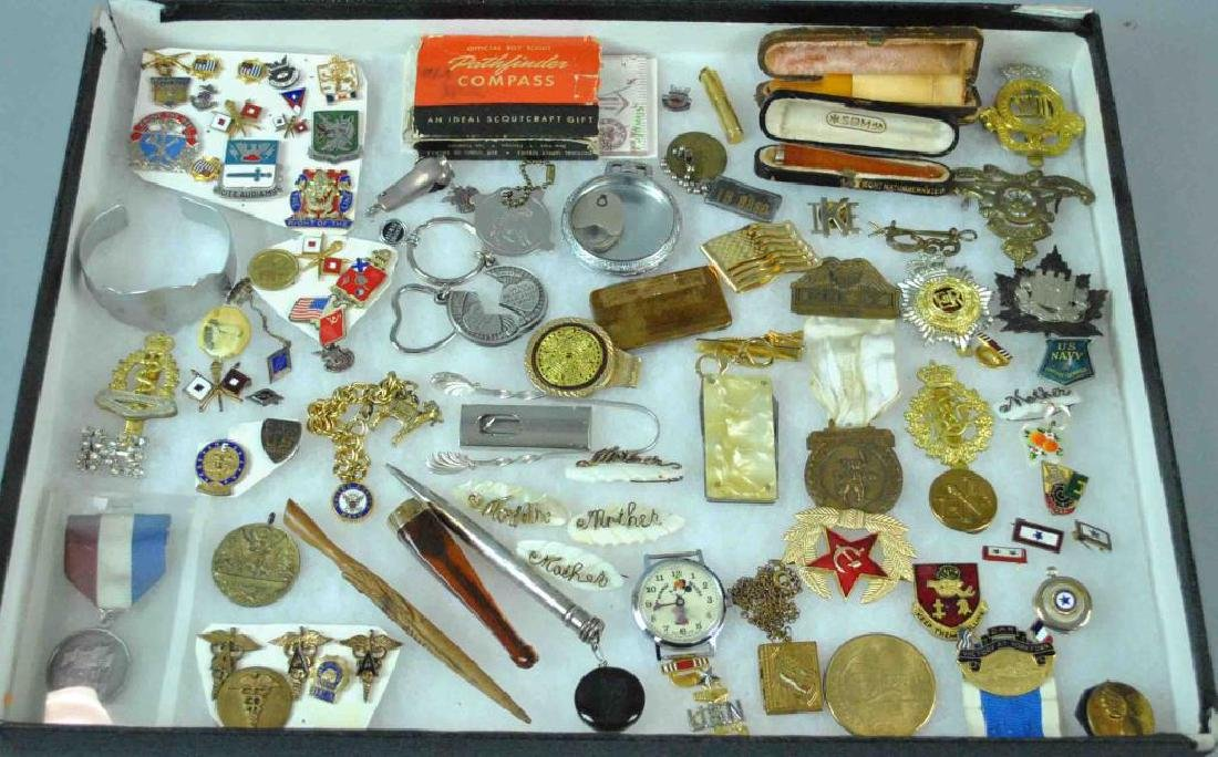 (80+) PINS & COLLECTIBLE OBJECTS