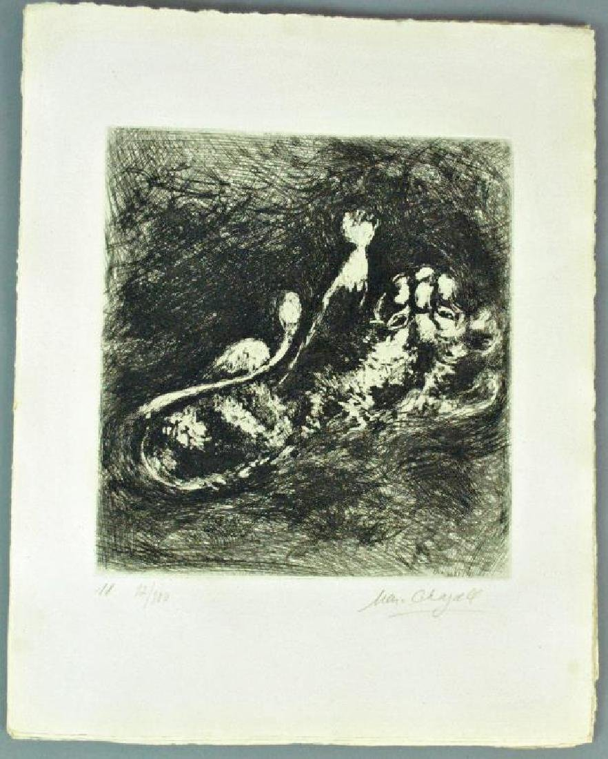 (5) CHAGALL ETCHINGS FROM FABLES OF LA FONTAINE - 3