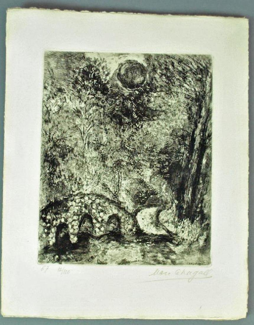 (5) CHAGALL ETCHINGS FROM FABLES OF LA FONTAINE - 4