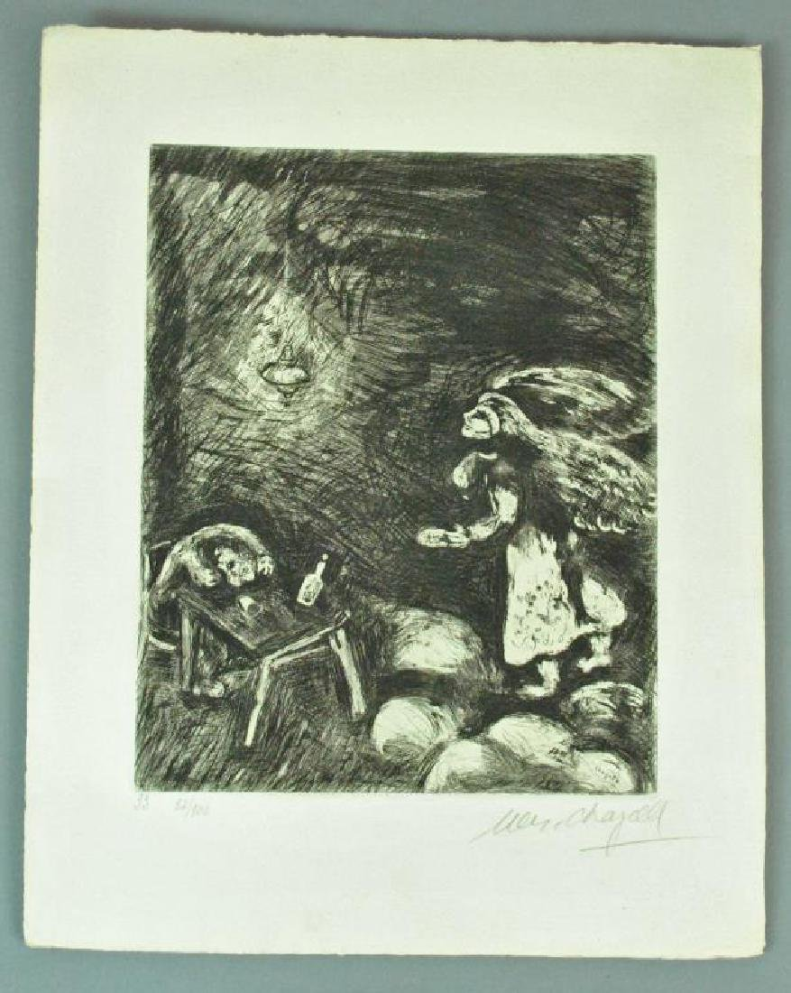 (5) CHAGALL ETCHINGS FROM FABLES OF LA FONTAINE - 5