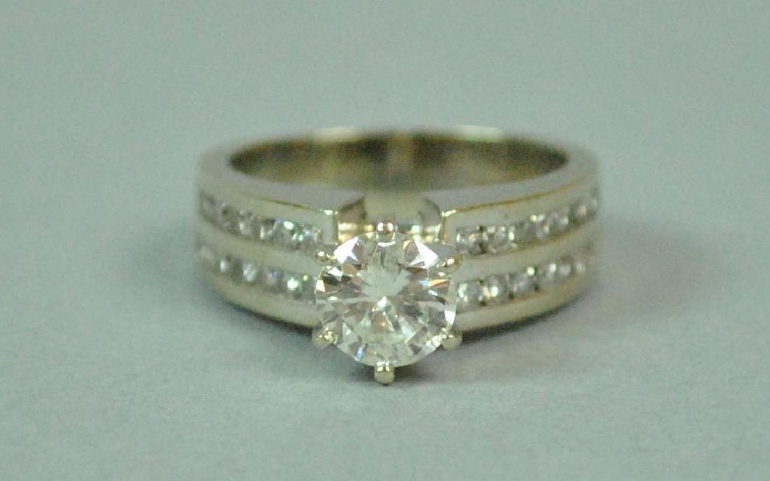 DIAMOND ENGAGEMENT RING, 1.25CT