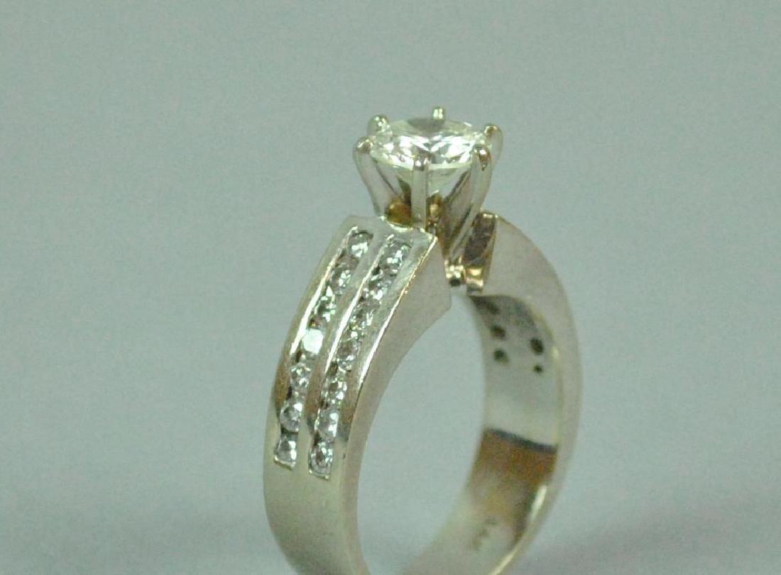DIAMOND ENGAGEMENT RING, 1.25CT - 2