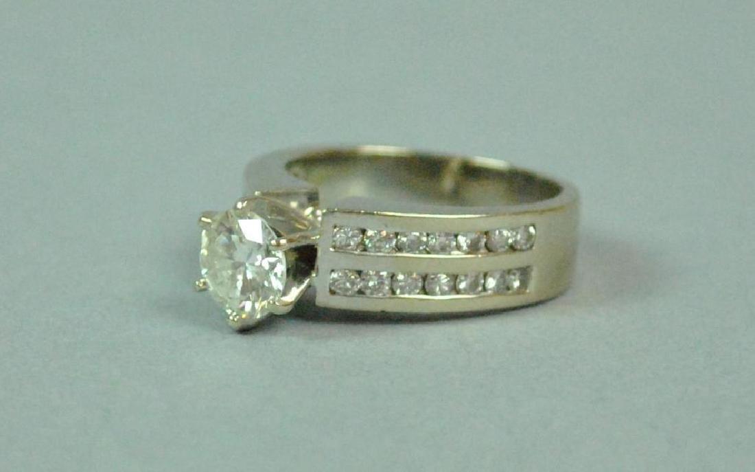 DIAMOND ENGAGEMENT RING, 1.25CT - 3