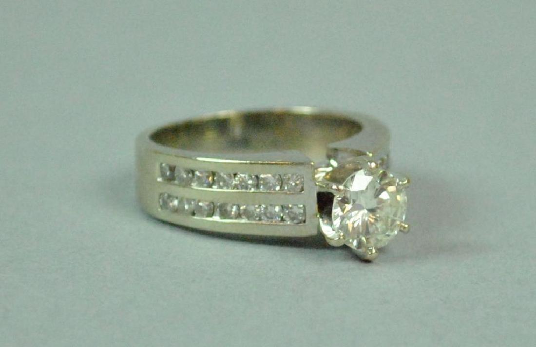 DIAMOND ENGAGEMENT RING, 1.25CT - 4