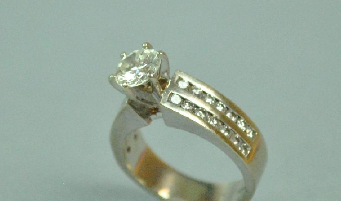 DIAMOND ENGAGEMENT RING, 1.25CT - 6