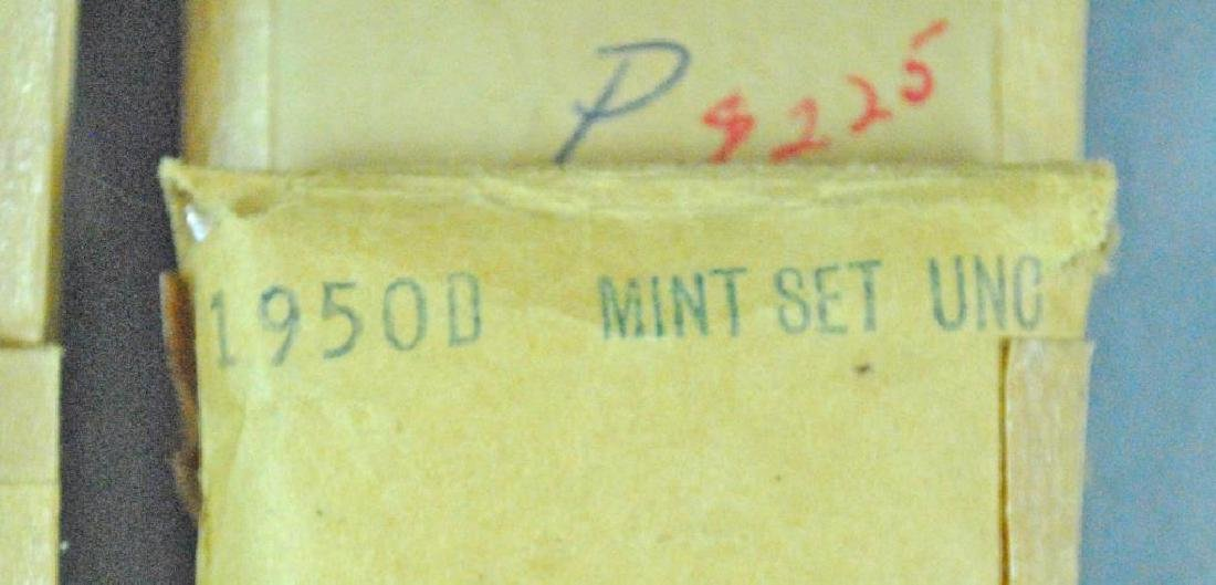 (15) 1950'S UNCIRCULATED US MINT 5-COIN SETS - 3