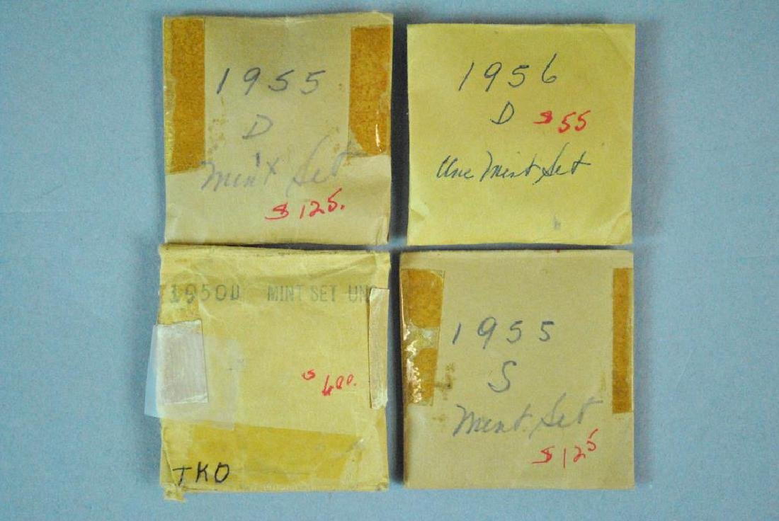 (15) 1950'S UNCIRCULATED US MINT 5-COIN SETS - 4