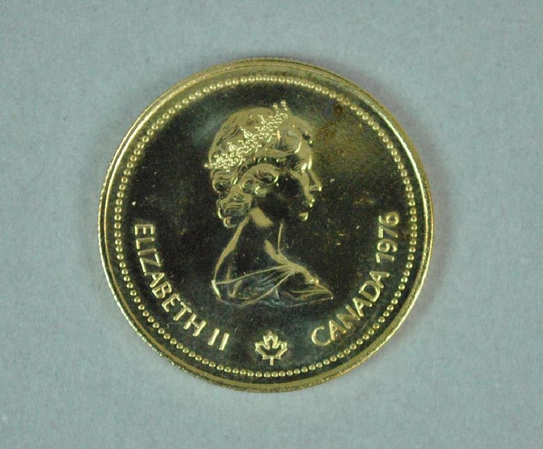 CANADIAN 1976 $100 OLYMPIC GOLD COIN - 2