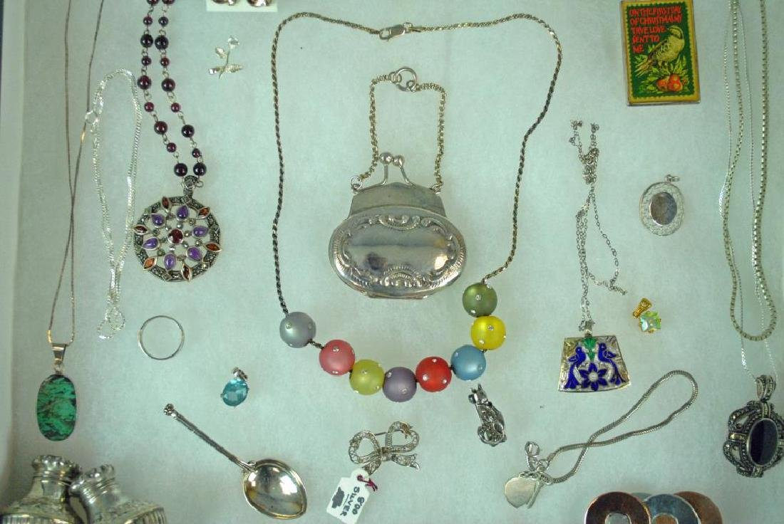 (40+) SILVER JEWELRY & OBJECTS - 3