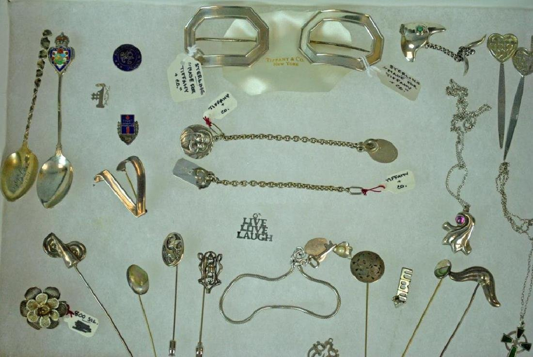 (50+) SILVER JEWELRY & OBJECTS - 2