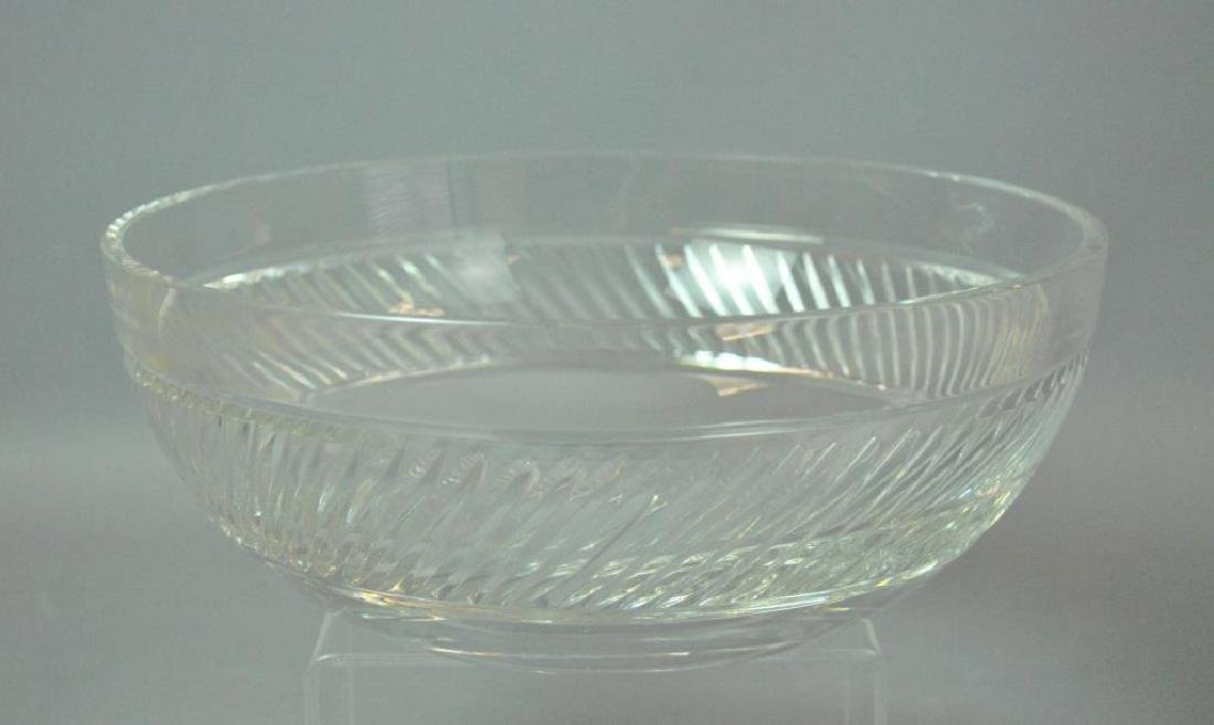 (2) LARGE TIFFANY & CO. CRYSTAL BOWLS - 2