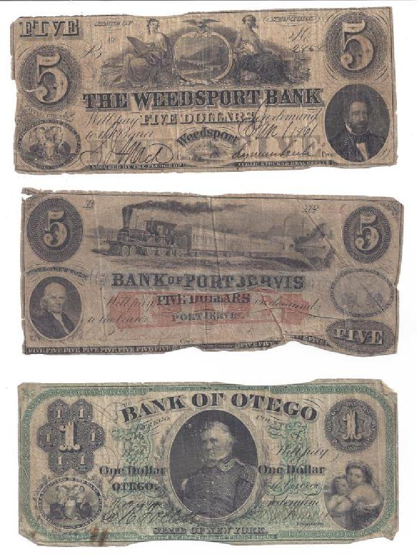 (12) OBSOLETE US BANK CURRENCY & FRACTIONAL NOTES