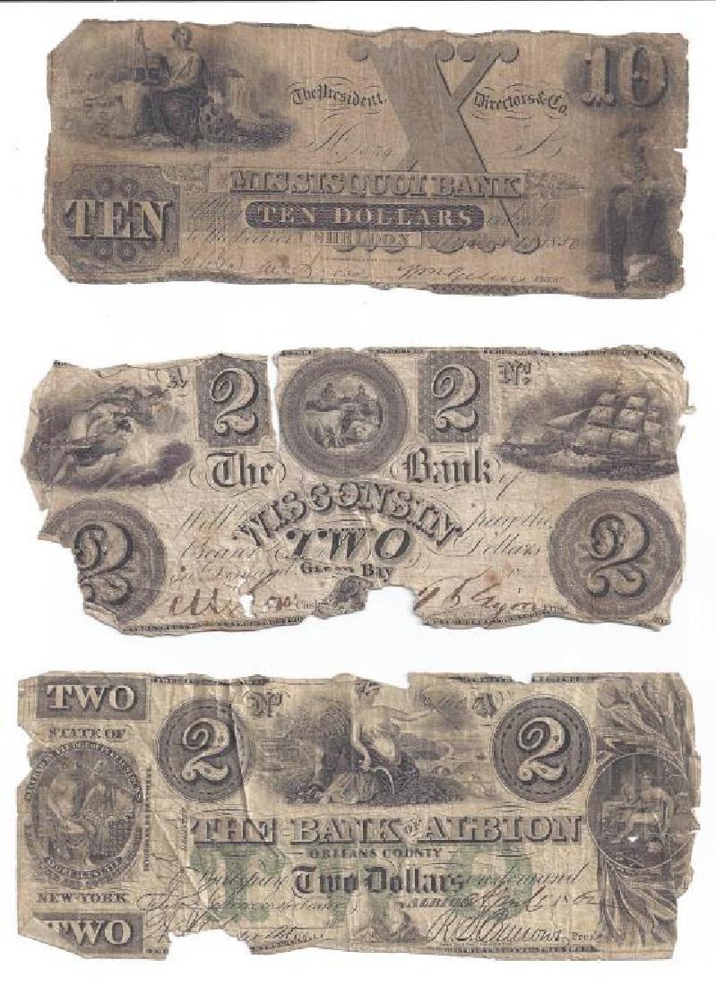 (12) OBSOLETE US BANK CURRENCY & FRACTIONAL NOTES - 3