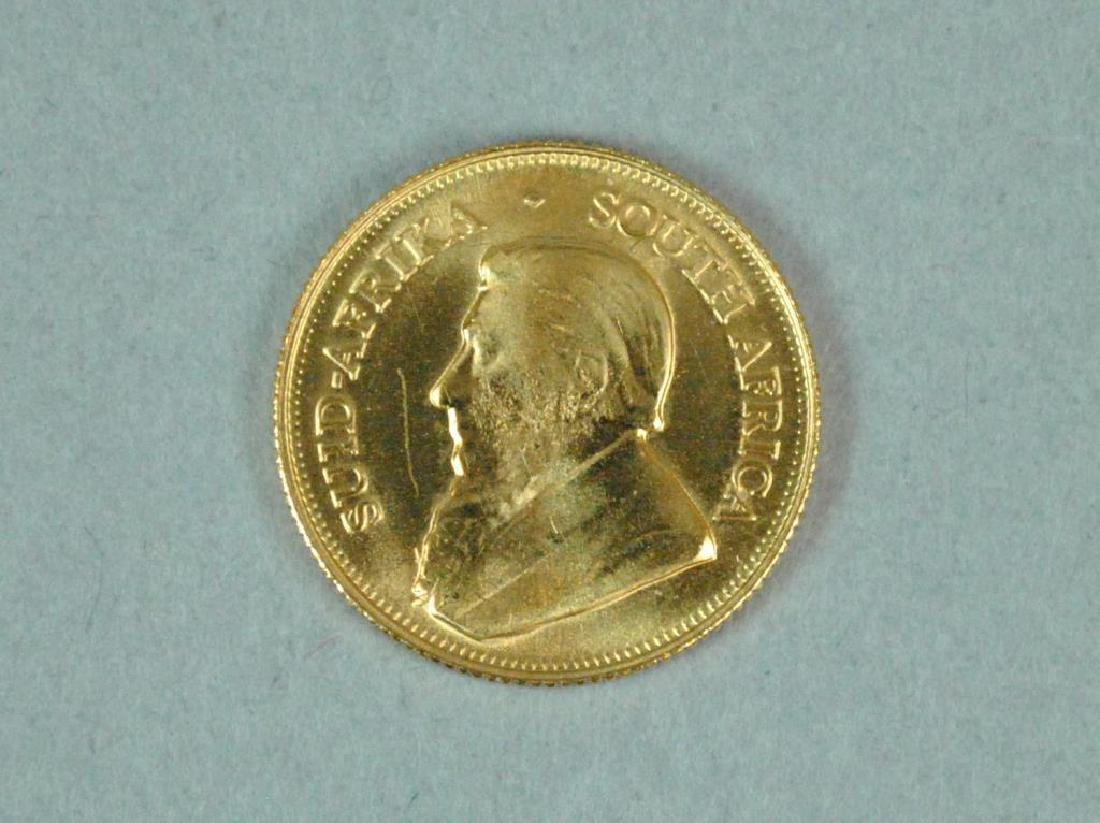 2002 SOUTH AFRICA 1/10 KRUGERRAND GOLD COIN