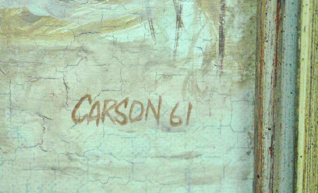 (ATTR) ROBERT CARSON (New York, 20th Century) - 4