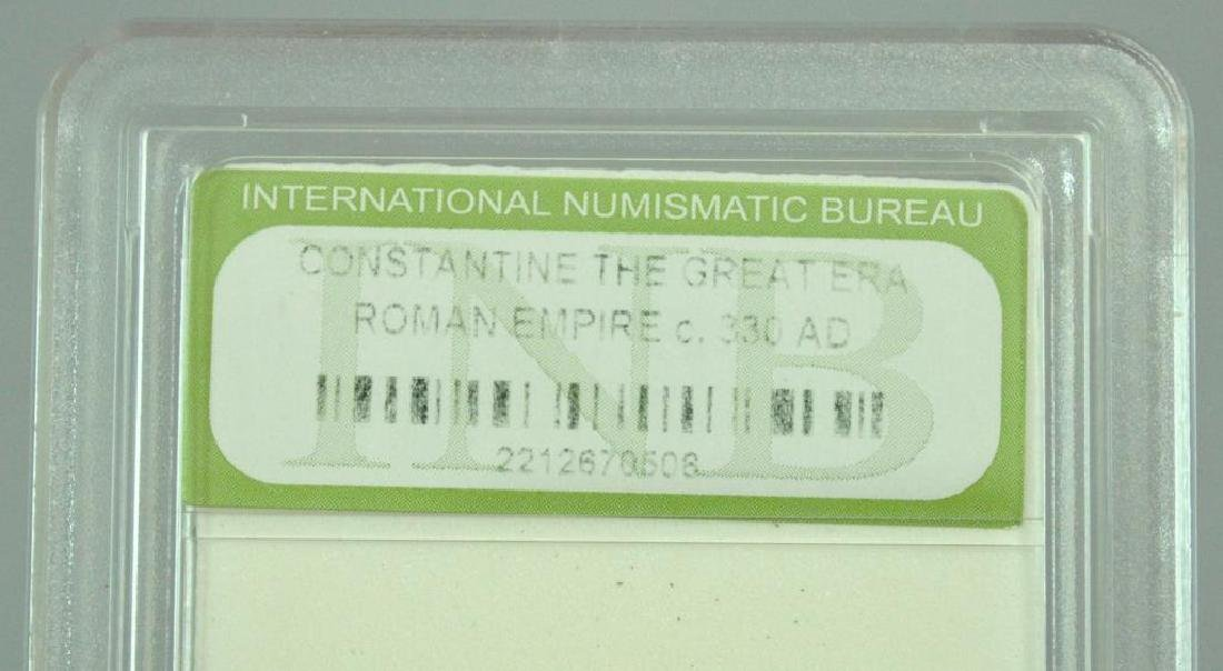 (10) CONSTANTINE THE GREAT ROMAN COINS - 2