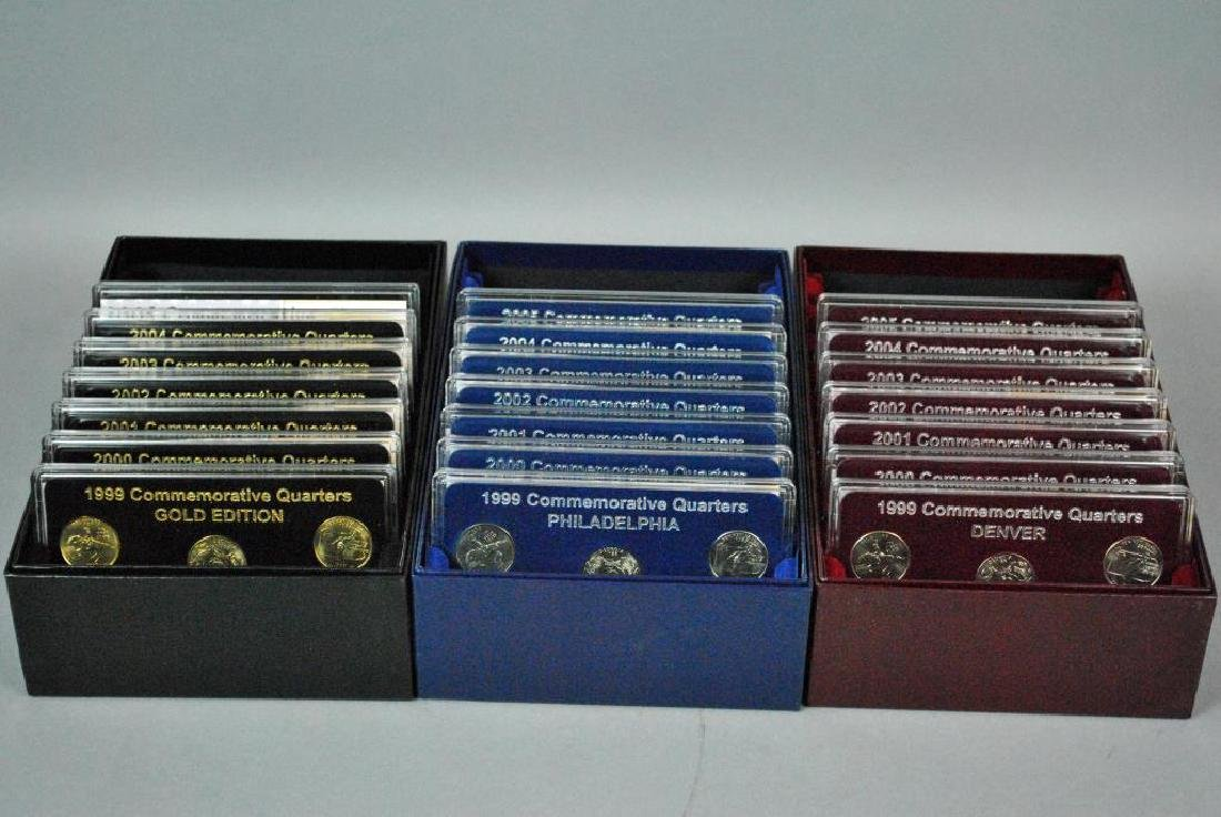 50 STATES COMMEMORATIVE QUARTERS COLLECTION